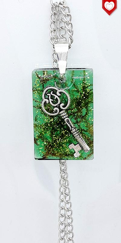 Schlüssel im Zaubermoos quadratisch