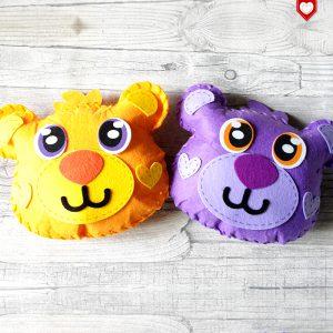 Kissen Teddy Bär Kinder 1