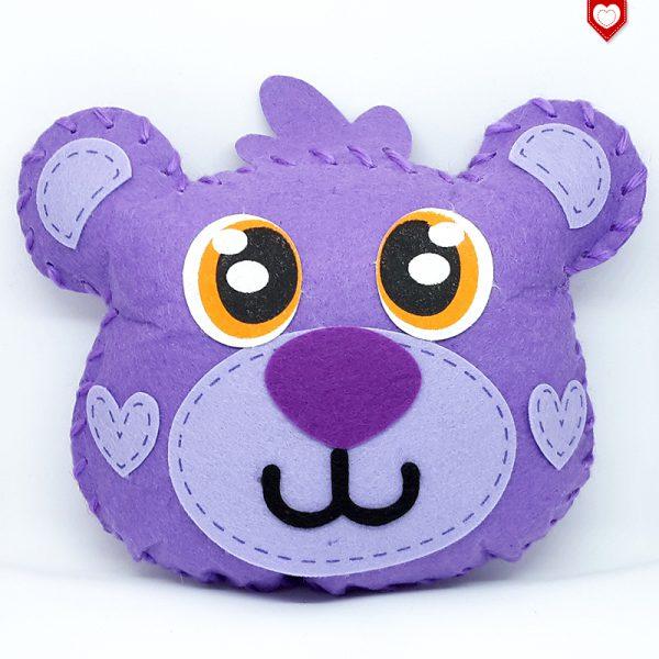 Kissen Teddy Bär Kinder 2