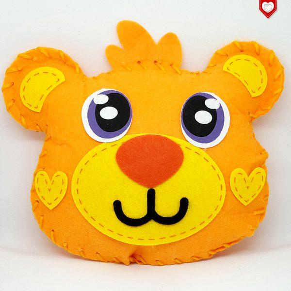 Kissen Teddy Bär Kinder 3