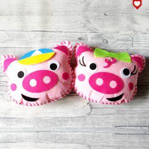 Kissen Schwein Schweinchen Kinder 1