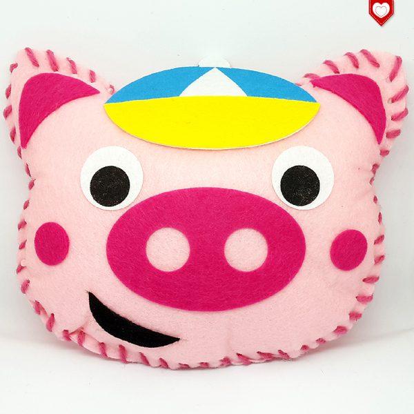 Kissen Schwein Schweinchen Kinder 2