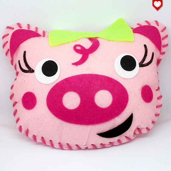 Kissen Schwein Schweinchen Kinder 3
