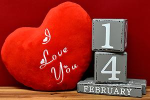 Valentinstag Dekoration Amanosa