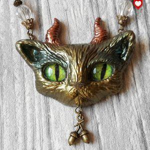 Faun Kitten Teufel Katze Waldkatze