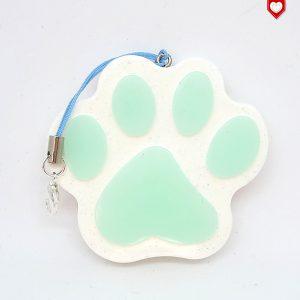 Anhänger Pfote Pawn Hund fluoreszierend 03