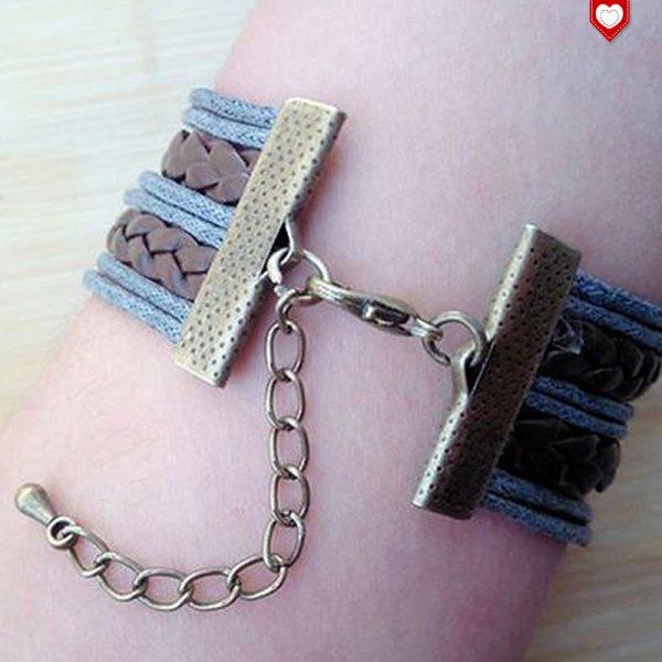 Armband Vintage Sister bronze