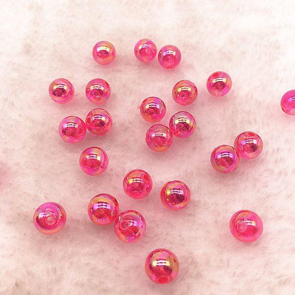 Acryl Perlen Pink