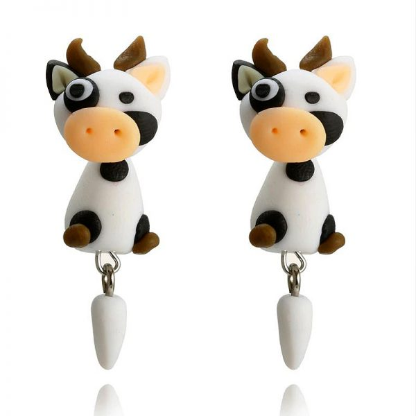 Ohrstecker 2teilig Kuh Cow 3