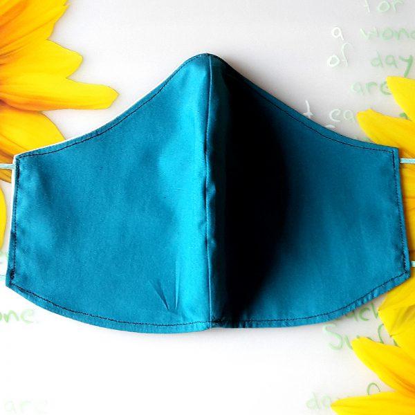Mund Nase Maske petrol mint