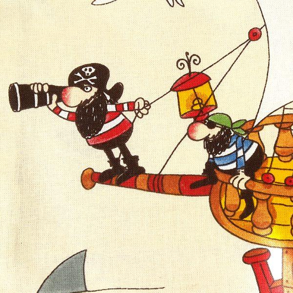 Kissen Kissenbezug 40x40 Piraten 3