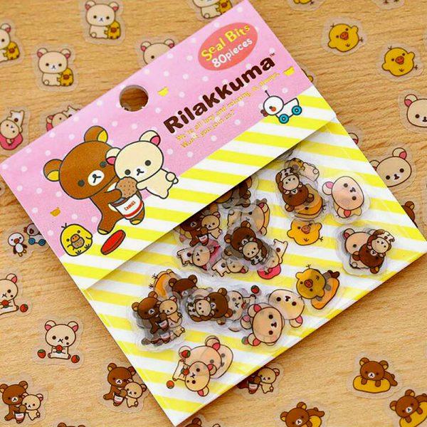 Sticker Flakes Bär