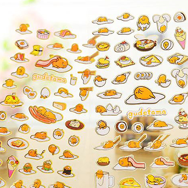 Sticker Aufkleber Kawaii Lustiges Ei