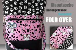 Fold Over Klapptasche Summer Cat 1