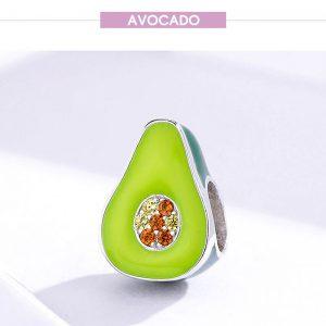 Charm Avocado Silber 925 01