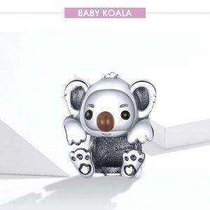 Charm Baby Koala Silber 925 01