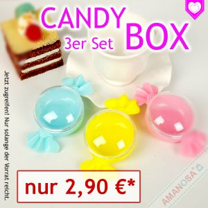 Angebot candy box AMANOSA