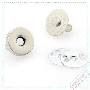 Magnet Verschluss für Taschen 14mm 5er Set