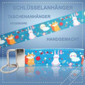 Schlüsselanhänger Taschenanhänger Fuchs & Hase