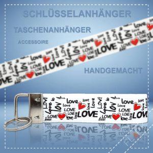 Schlüsselanhänger Taschenanhänger Liebe