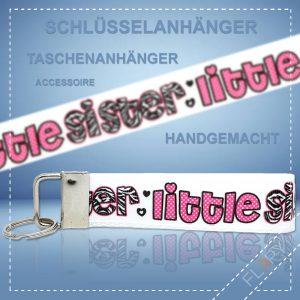 Schlüsselanhänger Taschenanhänger Little Sister