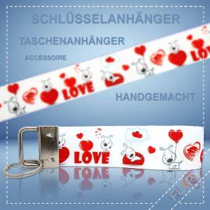 Schlüsselanhänger Taschenanhänger Love