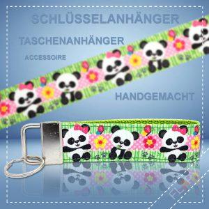 Schlüsselanhänger Taschenanhänger Panda