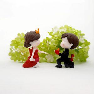 Romantisches Paar Verlobung Heiratsantrag 2