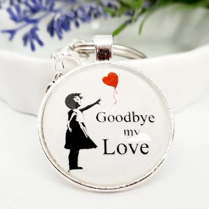 Schlüsselanhänger Geschenk Goodbye Love 3