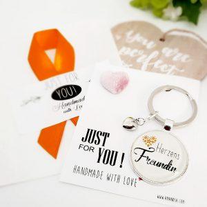 Schlüsselanhänger Geschenk Herzens Freundin 4
