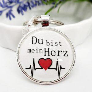 Schlüsselanhänger Geschenk Herzschlag 3