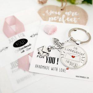 Schlüsselanhänger Liebesbrief 3