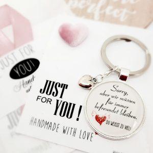Schlüsselanhänger Freunde für Immer Geschenk 3
