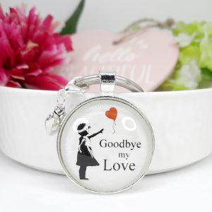 Schlüsselanhänger Geschenk Goodbye Love 8