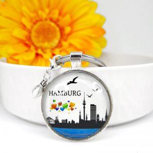 Schlüsselanhänger Hamburg 8