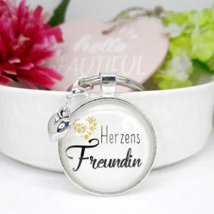 Schlüsselanhänger Geschenk Herzens Freundin 8