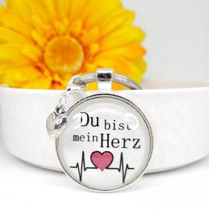 Schlüsselanhänger Geschenk Herzschlag 8