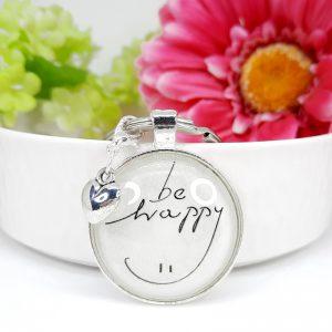 Schlüsselanhänger Geschenk Be Happy 8