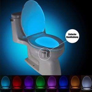 WC Licht Toilettenlicht Nachtlicht 1