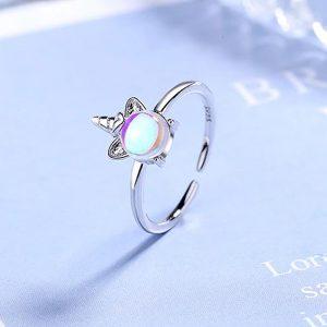 Ring Einhorn Silber 2