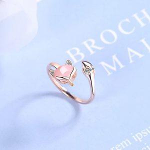 Ring Achat Fuchs Silber 3