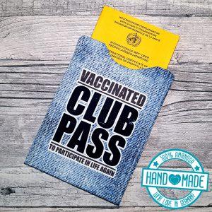 Impfpasshülle Impfausweistasche Clubpass 1