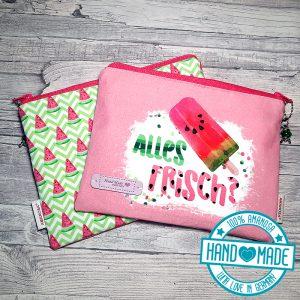 Kosmetiktasche Etui Melone Sommer 1